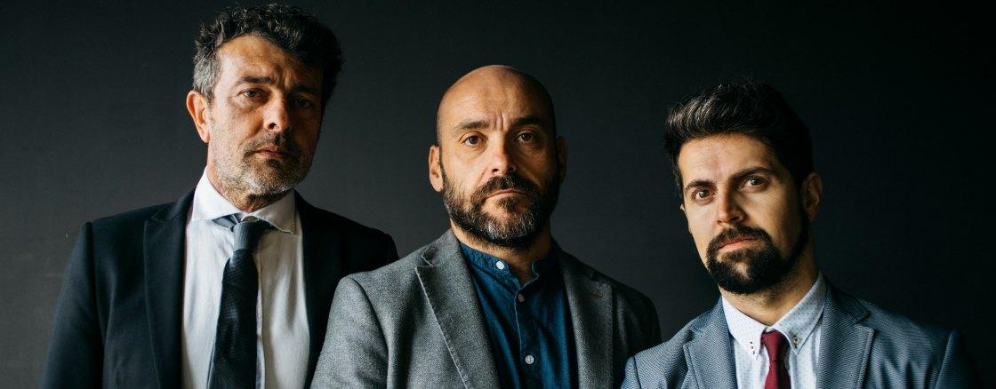 Federico Pérez, Santi Romay e Evaristo Calvo