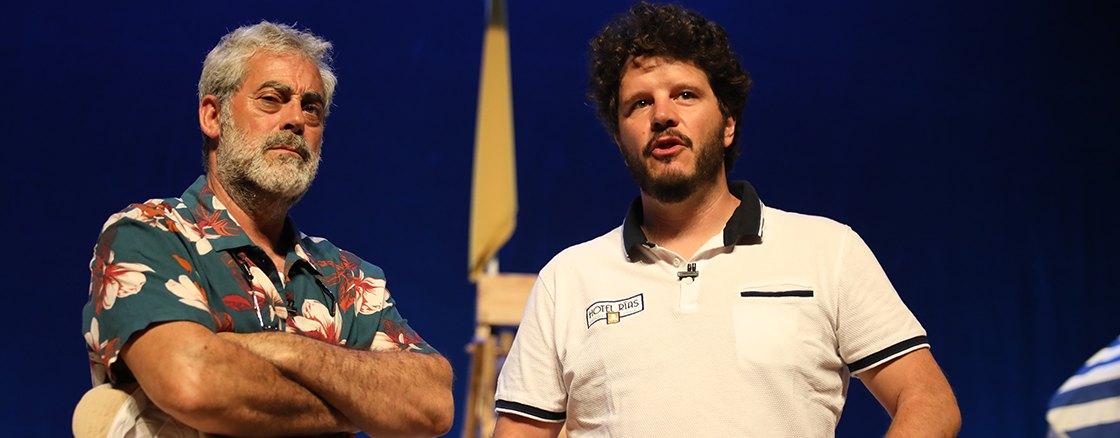 Carlos Blanco e Xosé A. Touriñán